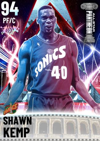 '94 Shawn Kemp diamond card