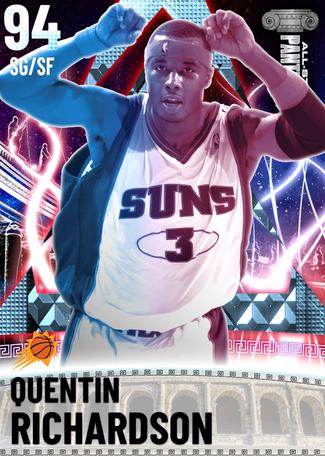 '13 Quentin Richardson diamond card