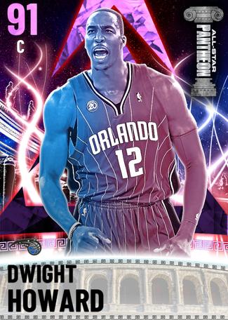 '11 Dwight Howard amethyst card