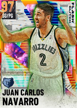 '08 Juan Carlos Navarro opal card