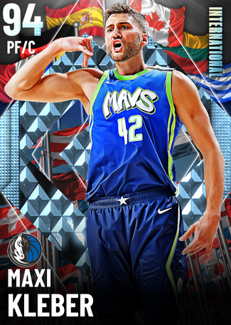 Maxi Kleber diamond card