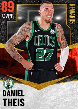 Daniel Theis ruby card