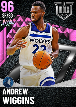 '19 Andrew Wiggins pinkdiamond card
