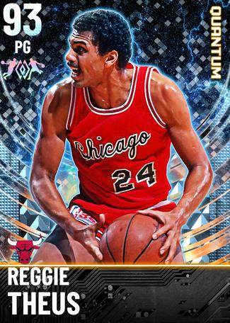 '91 Reggie Theus diamond card