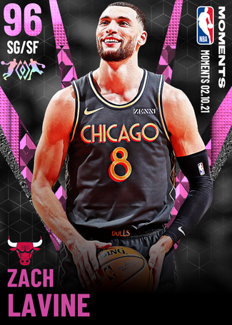 Zach LaVine pinkdiamond card