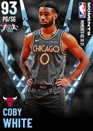 Coby White diamond card