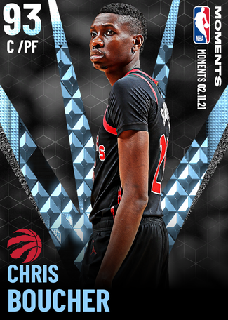 Chris Boucher diamond card