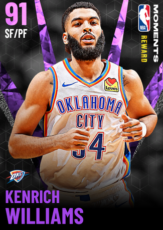Kenrich Williams amethyst card