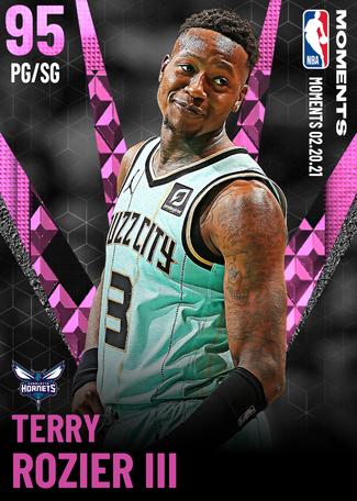 Terry Rozier III pinkdiamond card