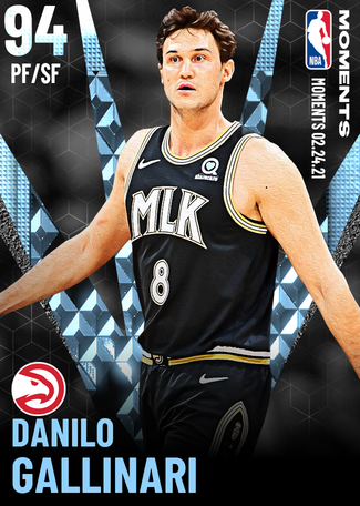 Danilo Gallinari diamond card