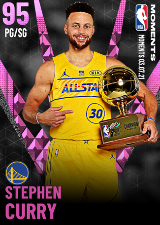 Stephen Curry pinkdiamond card