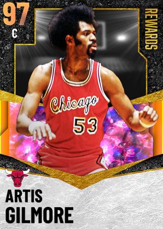 '88 Artis Gilmore opal card