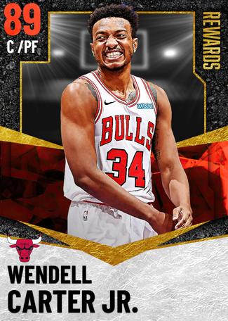 Wendell Carter Jr. ruby card