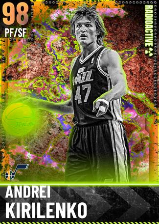 '04 Andrei Kirilenko opal card