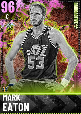 '93 Mark Eaton pinkdiamond card