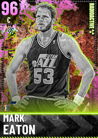 '93 Mark Eaton pinkdiamond card
