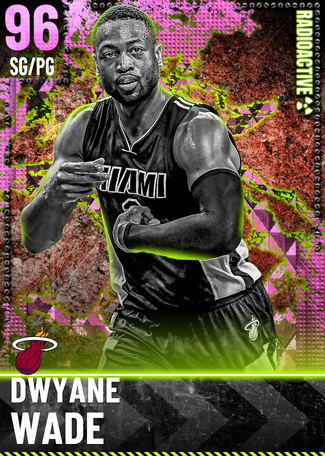 '04 Dwyane Wade pinkdiamond card