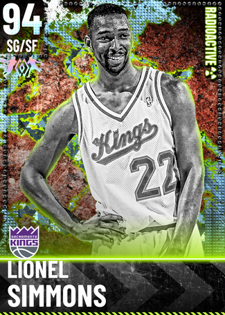 '93 Lionel Simmons diamond card