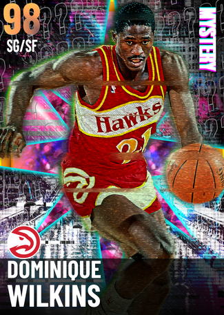 '86 Dominique Wilkins opal card