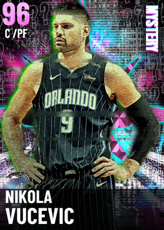 Nikola Vucevic pinkdiamond card