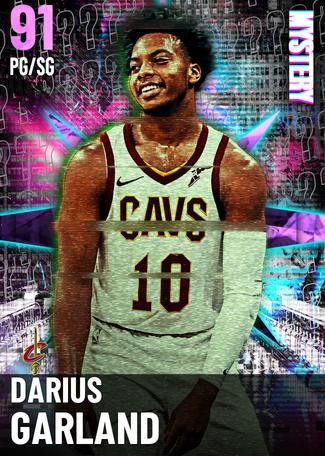 Darius Garland amethyst card