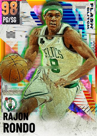 Rajon Rondo opal card