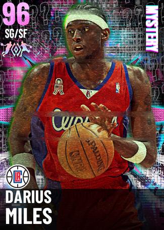 '09 Darius Miles pinkdiamond card