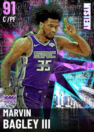 Marvin Bagley III amethyst card