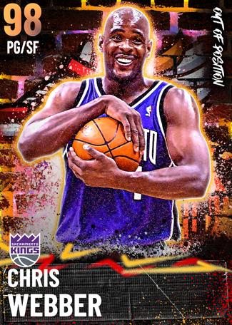 '04 Chris Webber opal card