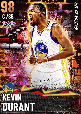 '16 Kevin Durant opal card