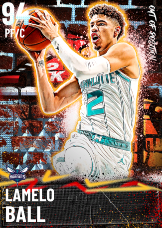 LaMelo Ball diamond card