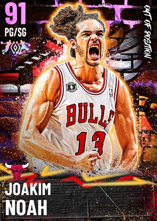 '10 Joakim Noah amethyst card