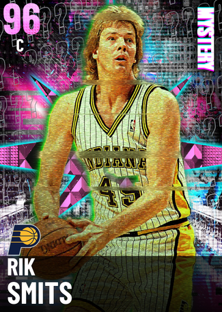 '00 Rik Smits pinkdiamond card