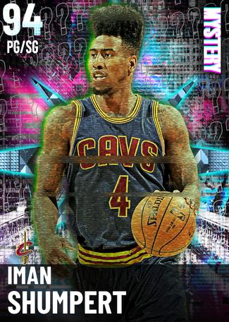 '16 Iman Shumpert diamond card