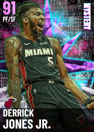 '18 Derrick Jones Jr. amethyst card