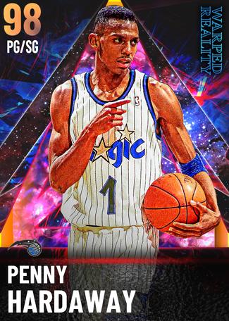 '94 Penny Hardaway opal card