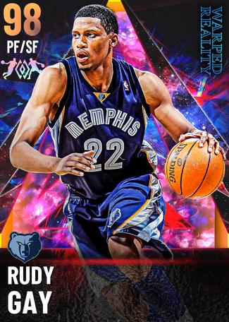 '18 Rudy Gay opal card