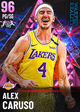 Alex Caruso pinkdiamond card