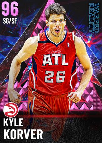 '08 Kyle Korver pinkdiamond card