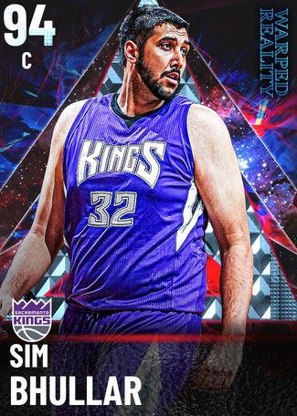 Sim Bhullar diamond card