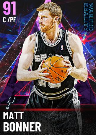 '19 Matt Bonner amethyst card