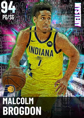 Malcolm Brogdon diamond card