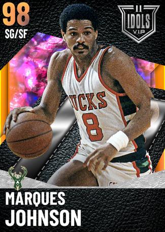 '90 Marques Johnson opal card
