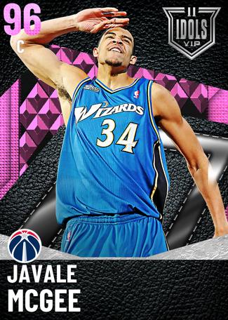 '18 JaVale McGee pinkdiamond card