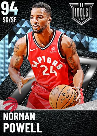 Norman Powell diamond card
