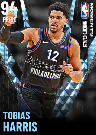 Tobias Harris diamond card