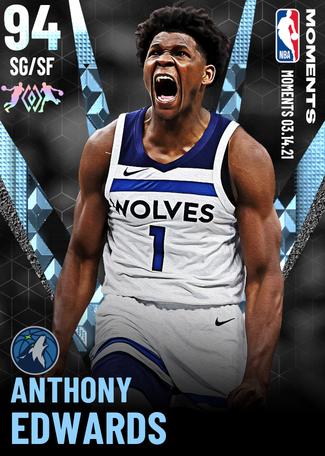 Anthony Edwards diamond card
