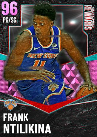 Frank Ntilikina pinkdiamond card