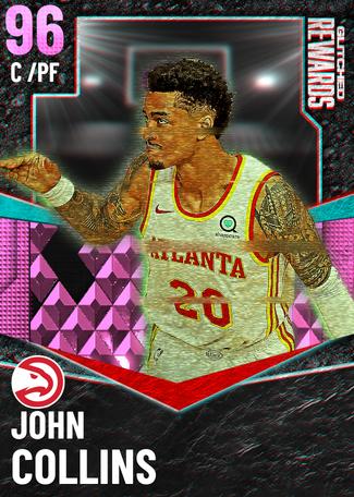 John Collins pinkdiamond card