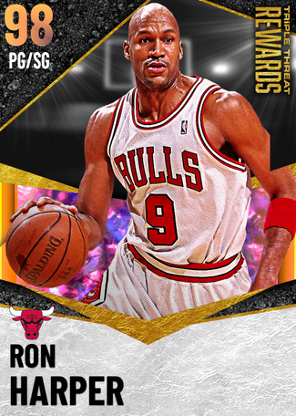 '01 Ron Harper opal card